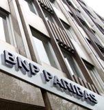 BNP Paribas bank Royalty Free Stock Image