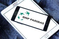 Bnp paribas bank logo Royalty Free Stock Photos