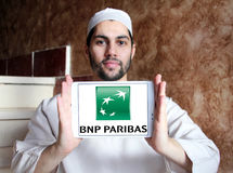 Bnp paribas logo Royalty Free Stock Photography