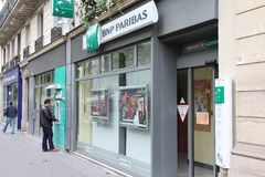 BNP Paribas Stock Images