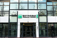 BNP Paribas Personal Finance Stock Image