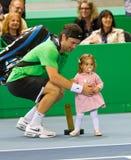 BNP Paribas Zurich Open Champions Tour 2012 Royalty Free Stock Photo