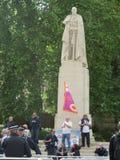 BNP抗议在Londons威斯敏斯特2013年6月1日 库存照片