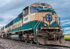 BNSF内燃机车9478 免版税库存照片