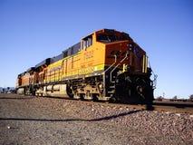 BNSF没有货车的机车 7522 免版税库存图片