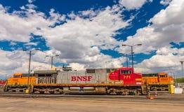 BNSF-Anordnung u. -anlagen Stockbilder