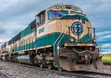 BNSF-Diesel Locomotief 9478 royalty-vrije stock foto's