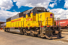 BNSF line up. Havre MT photos BNSF line up & facilities Stock Image