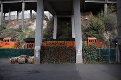 BNSF wynika tunel zdjęcie royalty free