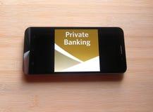 BNY Mellon app royalty-vrije stock fotografie