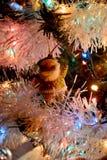 Bożenarodzeniowa dekoracja Święty Mikołaj fotografia royalty free