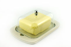 Boîte à beurre Photo stock