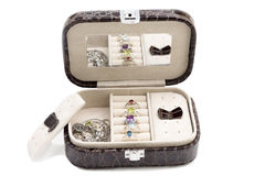 Boîte à bijoux Image libre de droits