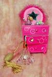 Boîte à bijoux images stock