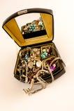 Boîte à bijoux Photo libre de droits