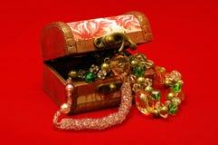 Boîte à bijoux Photos stock