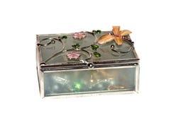 Boîte à bijoux décorative Image libre de droits