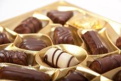 Boîte à chocolat Photos libres de droits