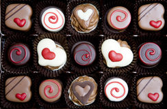 Boîte à chocolat Photographie stock libre de droits