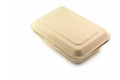 Boîte à nourriture de fibre d'usine Photos stock
