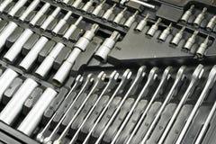 Boîte à outils d'un mécanicien Image stock