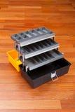 Boîte à outils en plastique Photographie stock libre de droits
