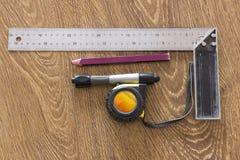 Boîte à outils pour le dessin images stock