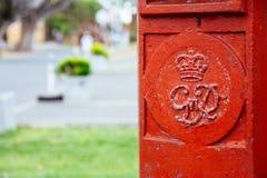 Boîte à pilules dans la ville de Galle, un reste deux points du ` s de Sri Lanka de vieux Image stock