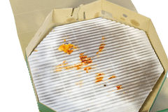 Boîte à pizza Photo stock