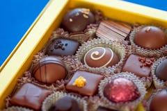 Boîte à sucrerie de Chocalote Photos stock