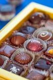 Boîte à sucrerie de Chocalote Photo libre de droits