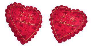 Boîte à sucrerie de coeur de Valentine Photos stock