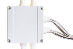 Boîte électrique terminale Photo stock