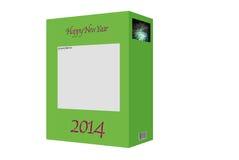 boîte 2014 Photos libres de droits