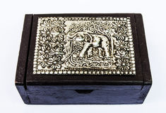 Boîte Image stock