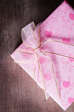 Boîte actuelle pour la valentine Photographie stock