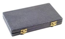 Boîte antique noire Photo libre de droits
