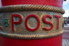 Boîte aux lettres à Liverpool (courrier BRITANNIQUE) Image stock