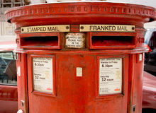 Boîte aux lettres Photos stock