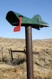 Boîte aux lettres battue Image libre de droits
