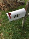 Boîte aux lettres blanche Image libre de droits
