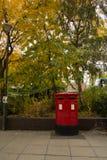 Boîte aux lettres britannique images libres de droits