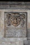 Le palais du doge de Venise, détail Photos libres de droits