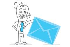 Boîte aux lettres de lettre Images libres de droits