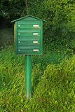 Boîte aux lettres de pays Photographie stock
