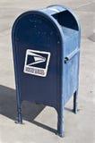 Boîte aux lettres de service postal Photo stock