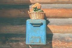 Boîte aux lettres de vintage Photographie stock libre de droits