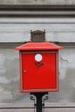 Boîte aux lettres en métal Images libres de droits