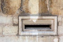 Boîte aux lettres en pierre Images libres de droits