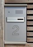 Boîte aux lettres et interphone Photo libre de droits